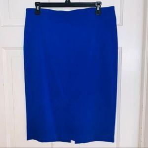Attyre Royal Blue Pencil Skirt.  Size 10